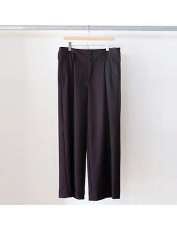 wool flannel slacks (BUR)