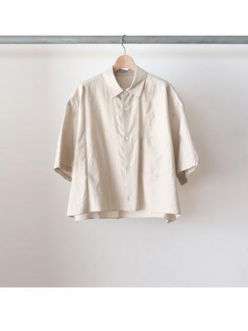 cotton silk S/S shirts