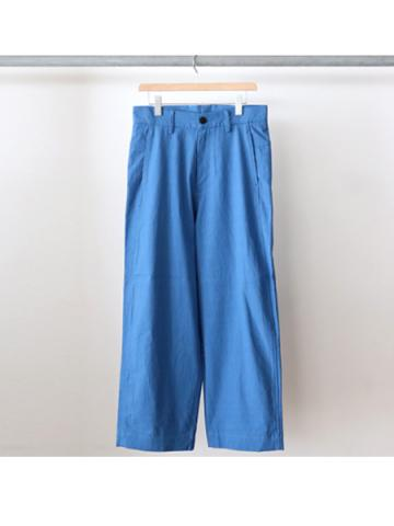 Cotton baggy pants (BLU)