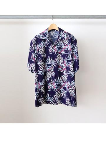 Rayon S/S shirts (NVY)
