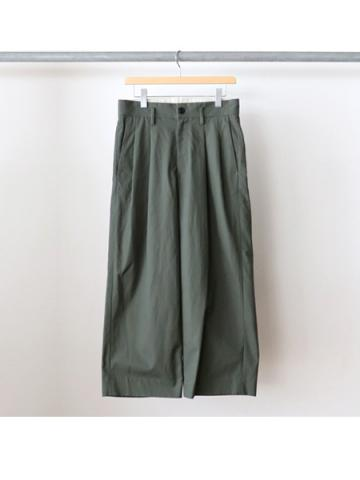 Cotton 2tuck pants (KHI)