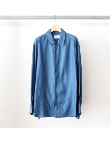 Cotton cupra L/S shirts (BLU)