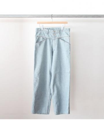 buggy denim pants