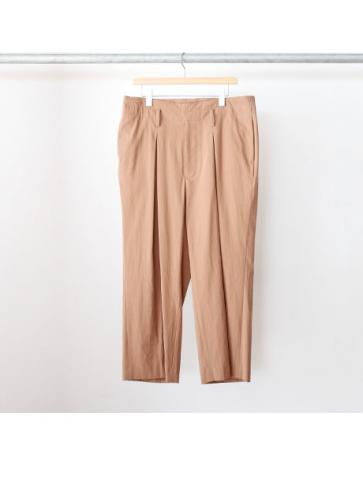 wide high waist slacks (CML)