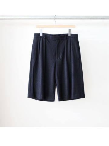 2tuck Wide Shorts (NVY)