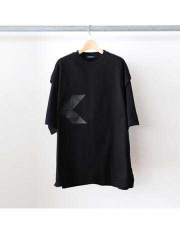layered S/S t-shirts (BLK)