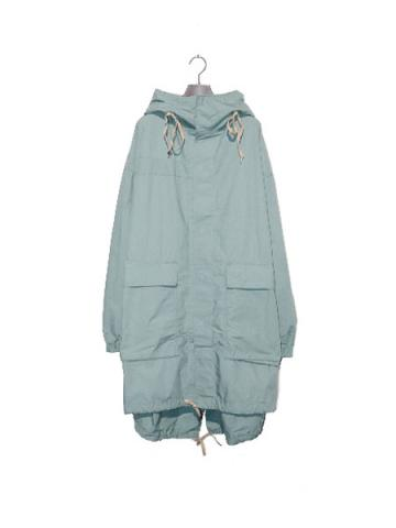OVER HOODIE COAT MIL(PET)