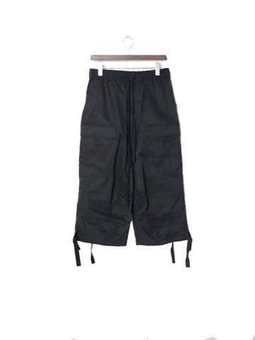 US FATIGUE PANTS CROPPED (BLK)