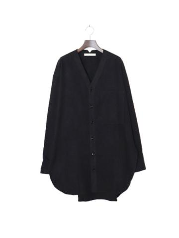 NIGHT SHIRT LONG NEL (BLK)