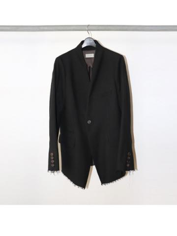Lapel less jacket (BLK)