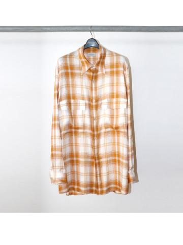 Over sized check blouse (ECR)