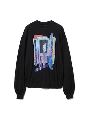 Graphic Print Sweatshirt (BK)