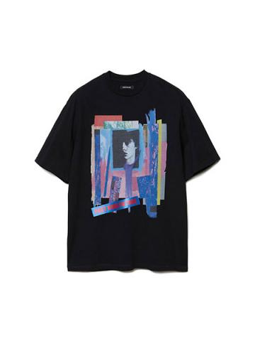 Graphic Print T-shirt (BLK)