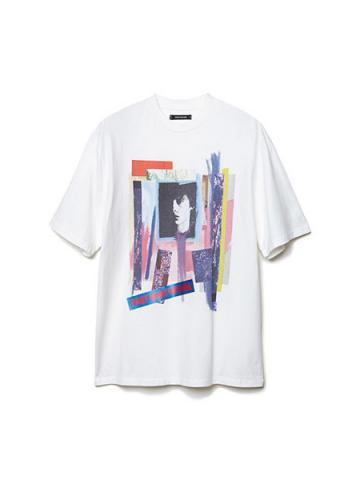 Graphic Print T-shirt (WHT)