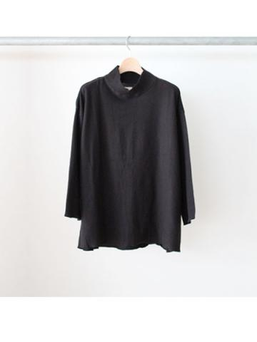 MOCK NECK SWEAT(BLK)