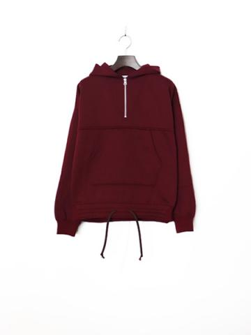 Half zip hood shirt (BUG)