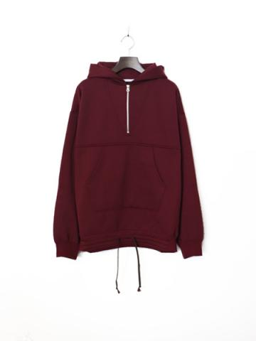 Half zip hood shirt -BOYS- (BUG)