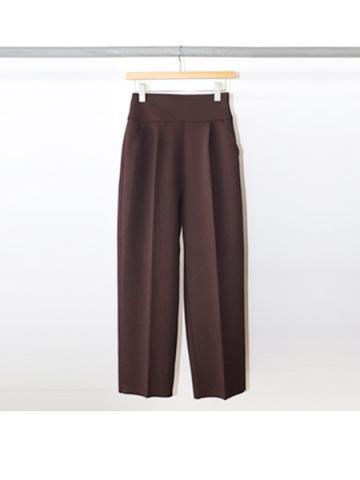Amunzen high waist tapered pants (CHO)