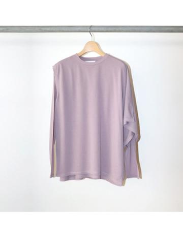 Cotton nylon seer layered Tee (LAV)