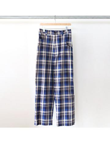 over plaid punk pants