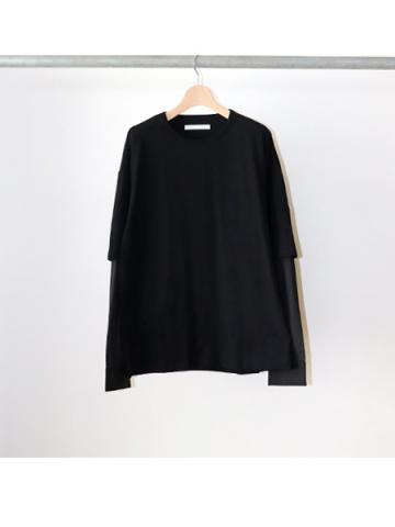 double sleeve t-shirt (BLK)