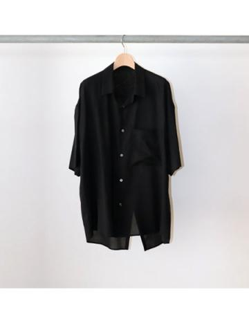 oversize tail shirts (BLK)
