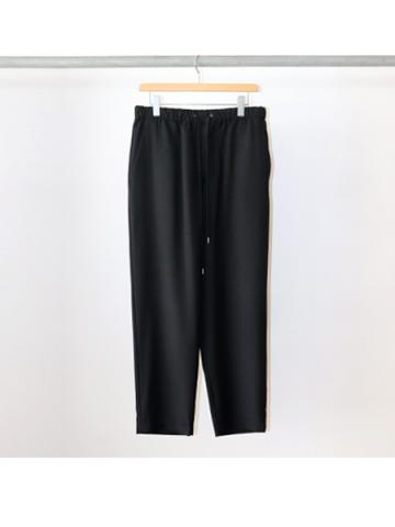 tapered easy pants (BLK)