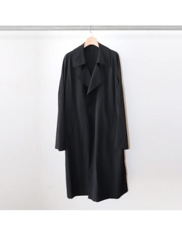 trench coat (BLK)