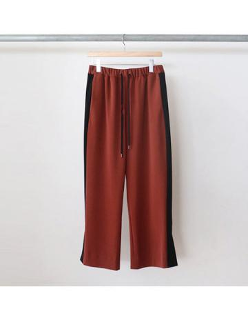 easy slit pants (BRN)