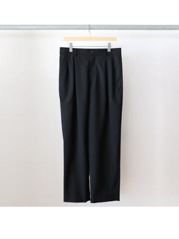 Hi wast wide trousers (BLK)