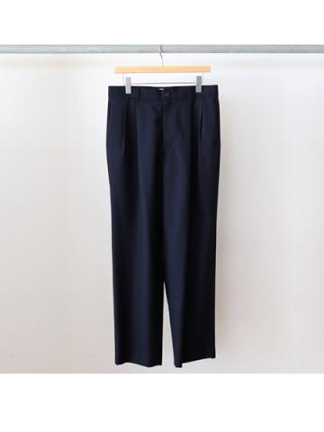 Hi wast wide trousers (NVY)