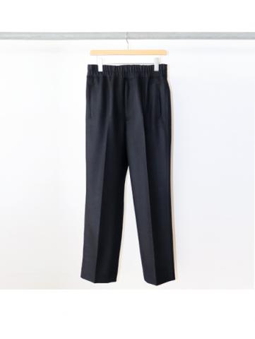 WOOL PONCH / EASY PANTS (NVY)
