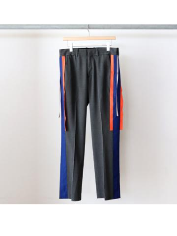 two line trousers (GRY)