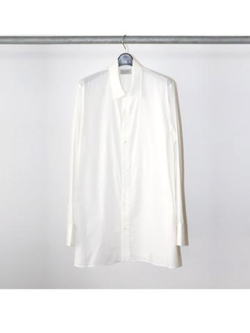Cotton Silk Basic Shirt (WHT)