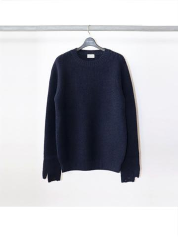 Crew Neck Sweater (NVY)