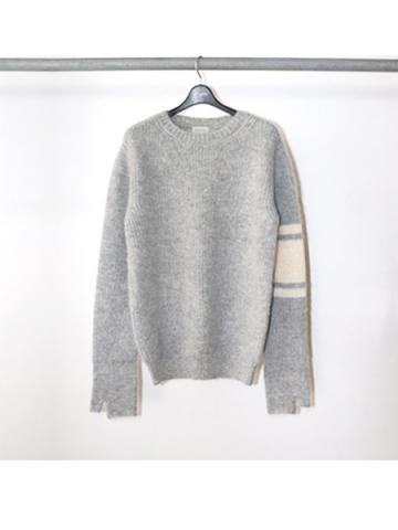 Mohair Crew Neck Sweater (GRY)