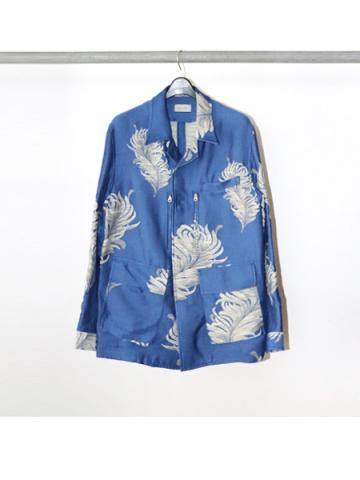 Inner blouson feather pattern (BLU)
