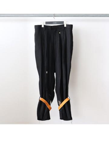 Cargo trousers (BLK)