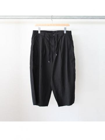 2tuck easy shorts (BLK)