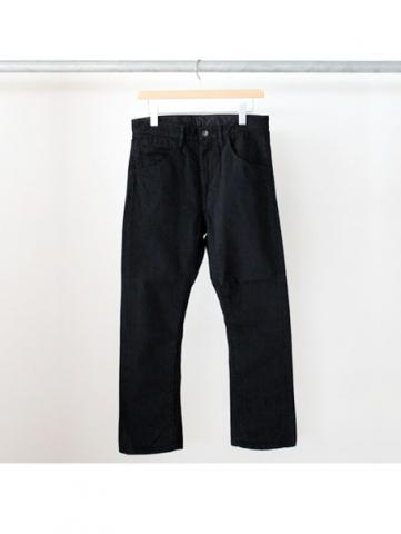 BOOTS CUT DENIM PANTS (BLK)