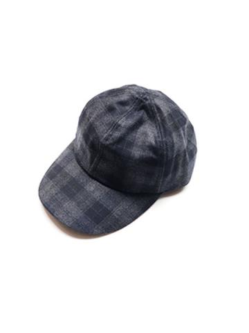 CHECK CAP (GRY/BLK)