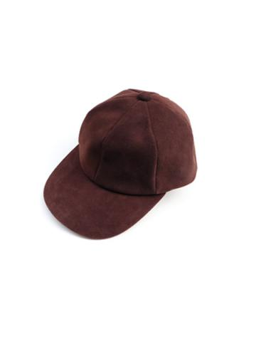 SHEEP SUEDE CAP (DBRN)