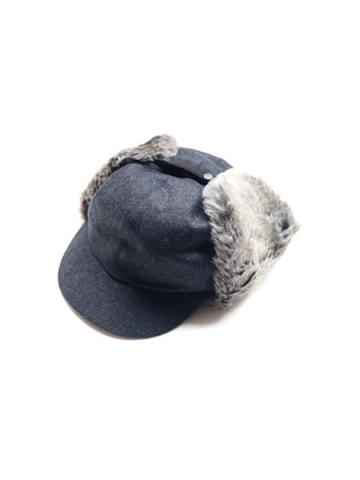 FLANNEL WOOL FUR EAR CAP (CHA)