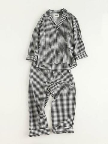 day pajama (gingham)