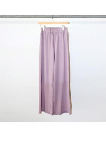 Cotton nylon easy pants (LAV)