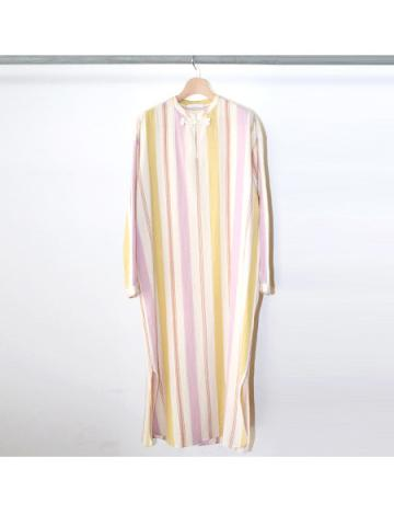 Cotton stripe shirt dress (PRL)