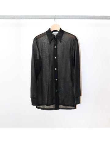 Nylon smooth shirt (BLK)