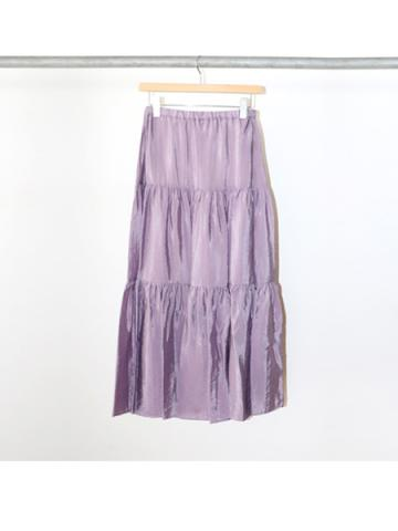 Organdie tiered skirt (LAV)