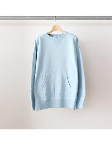 Crew neck sweat -BOYS- (SKY)