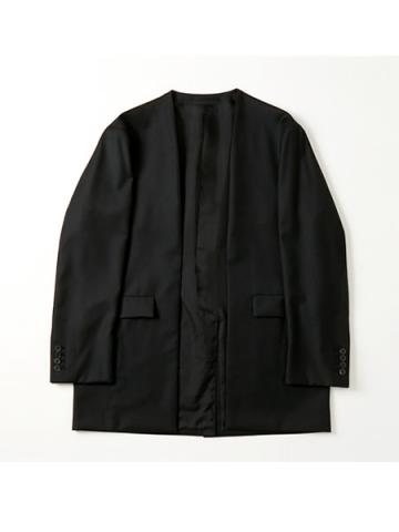 no collar jacket (BK)